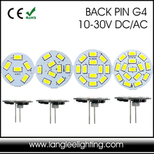 Round PCB 12V LED Lights G4 LED 1.5W 2W 2.5W 3W