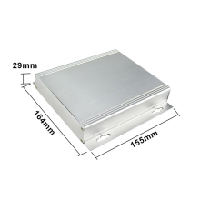 szomk AKCA24 29*164*165mm extrode aluminium case diy hifi amplifier aluminum enclosure