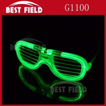 3pcs color shades light glow shutter glasses