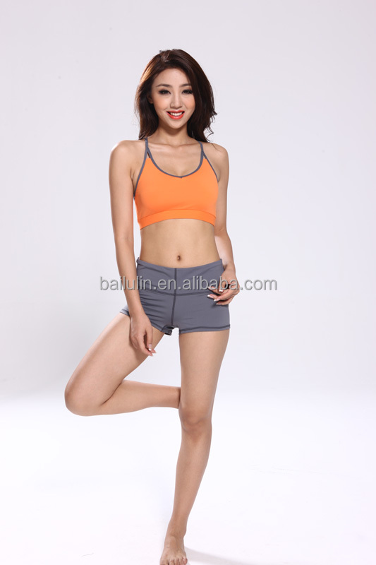 Fashion Style Lady Yoga Wear Wholesale Sexy Women Sports Bra Girl Custom Fitness Clothes