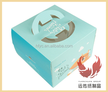 large chinese food boxes for birthday cake packaging