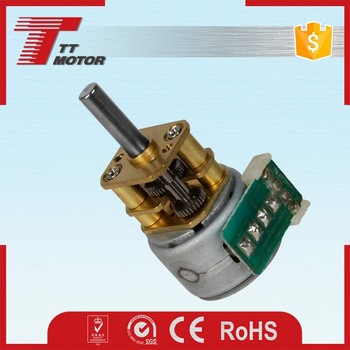 GM12-15BY 5v 1/50 gear ratio stepping gear motor for IP camera