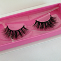 Create your own logo private label 3d mink lashes custom package