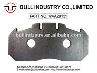 Truck &Bus Steel Backing Plate With holes WVA 29131 For Brake Pad Renault &MAN Volvo