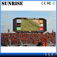 Today cricket match live video led display screen star electronics Sports Stadium Perimeter LED display