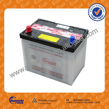 N40L 12v40ah dry charged batteries scrap batteries