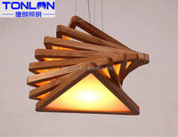 China supplier economic kitchen western style wood ceiling lamp