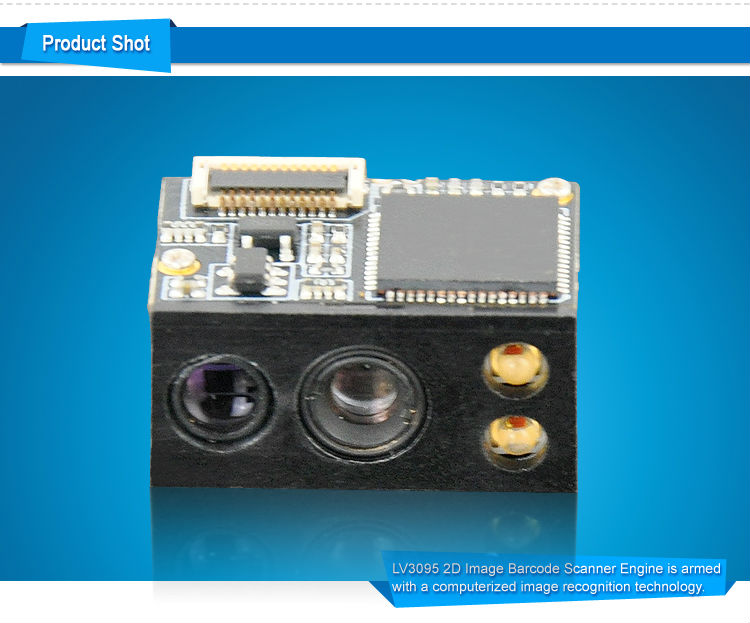 LV3095 NEW Cheap OEM CMOS 2D Fingerprint Scanner Module