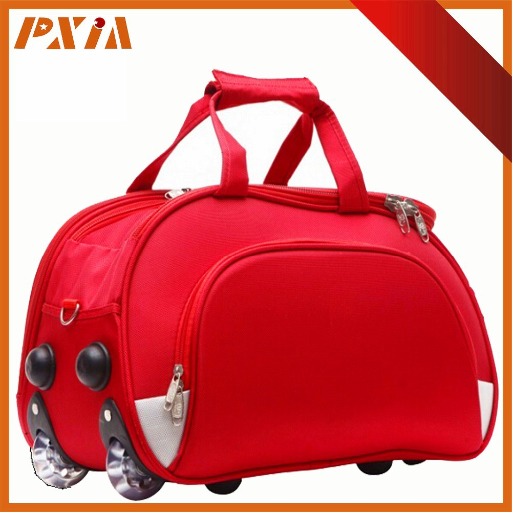 Manufacturers Foldable Nylon Trolley Luggage Travel Bags