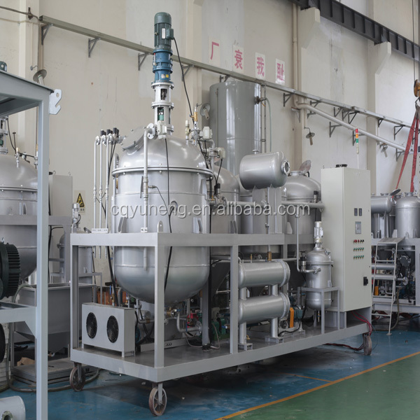 YUNENG Oil distillation plant refining waste engine oil to diesel oil