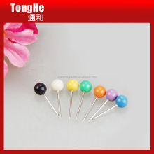 Assorted Colored Office Binding Supplies Plastic Ball Head Map Tacks