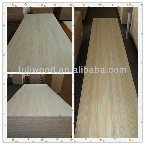 1220*2440mm Radiata Pine Finger Joint Board from luli china