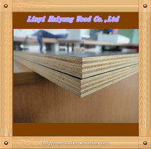 building materials 18mm black/brown film faced plywood sheet , poplar core cheap film faced plywood