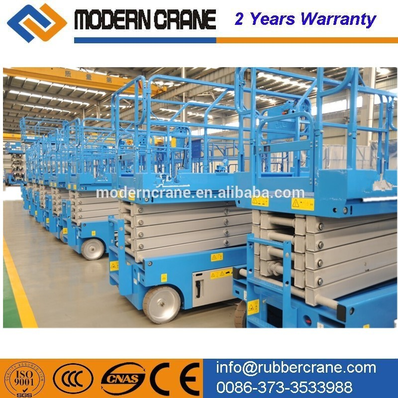 Heavy duty battery ladder lift hydraulic ladder lift electric power ladder for sale
