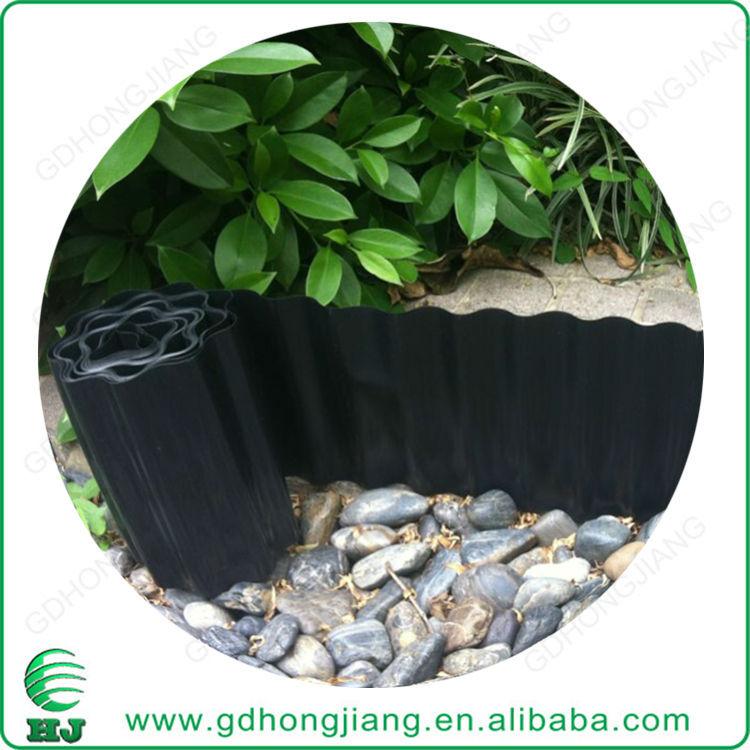 Venta al por mayor cercas de material reciclado compre for Borde plastico para jardin
