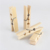 25mm wooden photo hanging clips decorative crafts