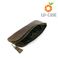 New launched portable glasses case leather