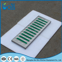 F200 cassava grating machine gutter manhole cover 304 stainless steel cover