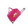 Factory 210D Lining carry on polyester durable luggage trolley travel bag