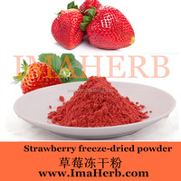 100% natural organic freeze dried strawberry powder for instant drink free sample