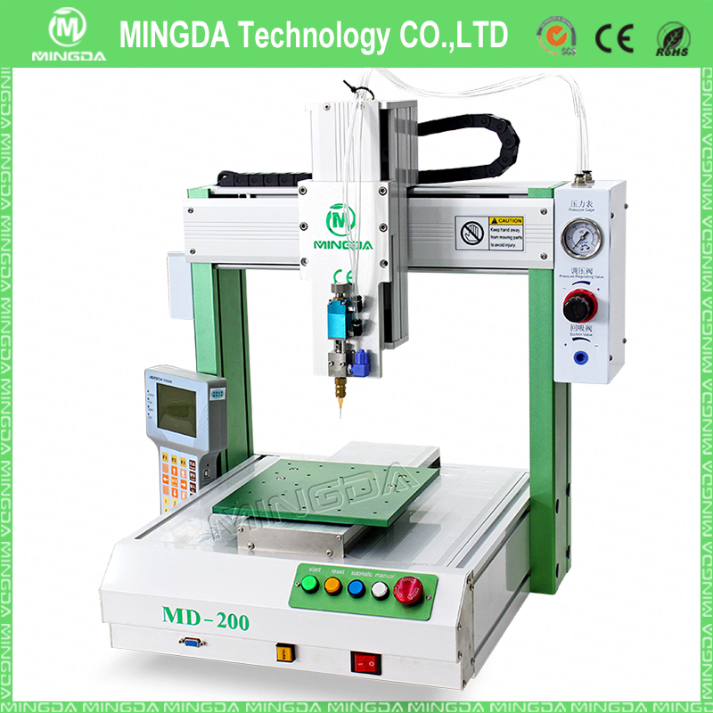 Factory Full Automatic Iphone Frame Glue Dispenser Epoxy Dispensing Machine