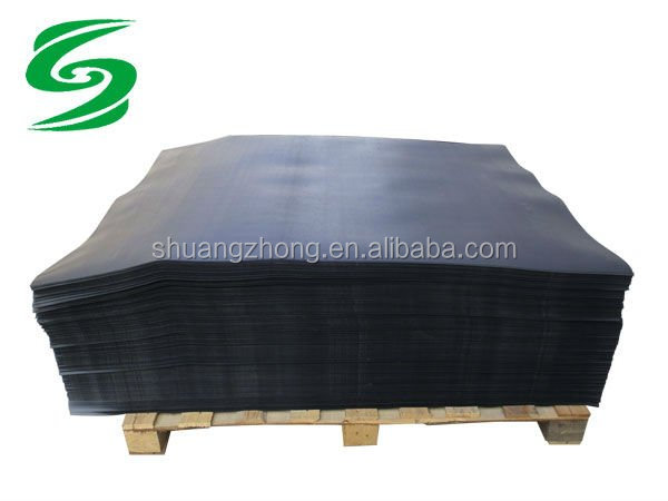 black HDPE plastic slip sheets of transportation protective packaging material
