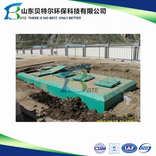 Individual private sewage wastewater treatment plant