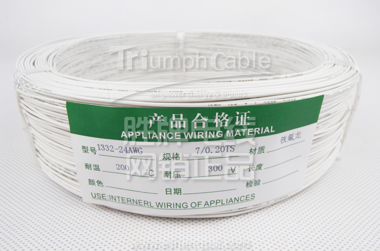 high temperature cable FEP insulated teflon wire ul1332 24awg wire