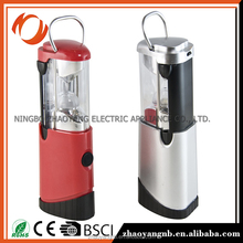 Water-proof hanging rechargeable camping lantern