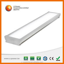 ip65 waterproof led lighting fitting 43W replacement fluorescent 2*58W tube