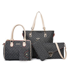 Factory <strong>Fashion</strong> Colorful Women's Bag Lady PU Leather Tote bags Woman Handbag Sets