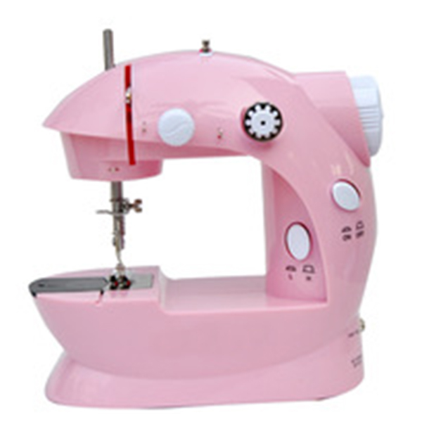 Zogift FHSM-202 Rosy battery operated Mini 2-Speed electric Sewing Machine Household