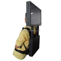 21.5 inch well-designed advertising digital backpack,backpack advertising lcd