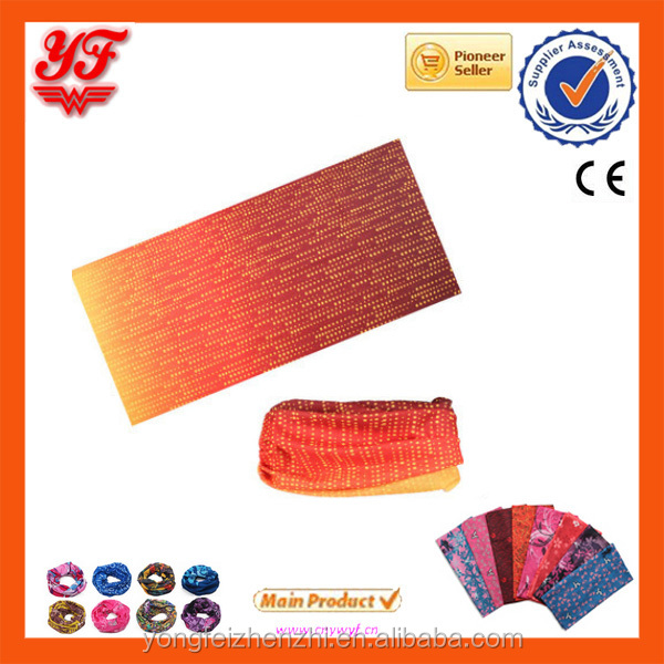 OEM cheap custom popular fashion design polyester headband