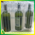 transparent inflatable shock resistant buffer protective shipping carrier air bag for wine bottle