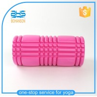 High quality eva textured foam roller with logo