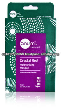 Australia Crystal Red Natural Clay - Moisturising Masque