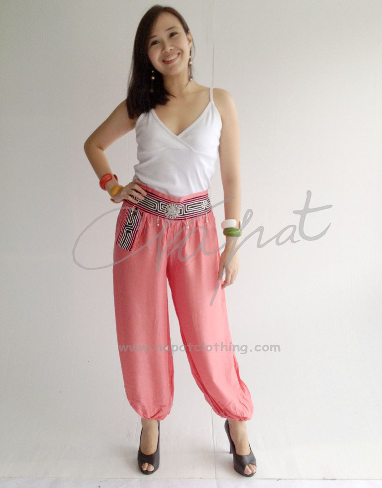 Thailand Rayon Harem Pants with Aladdin Balloon Trouser