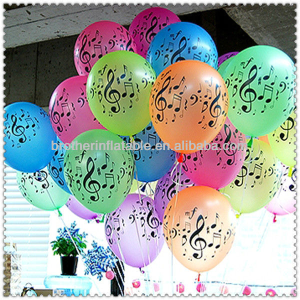 Colorful Balloon Sample Happy Birthday Greetings