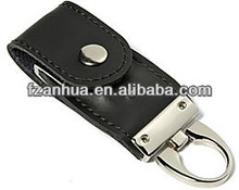 Promotional gift Leather cheap usb flash drives wholesale