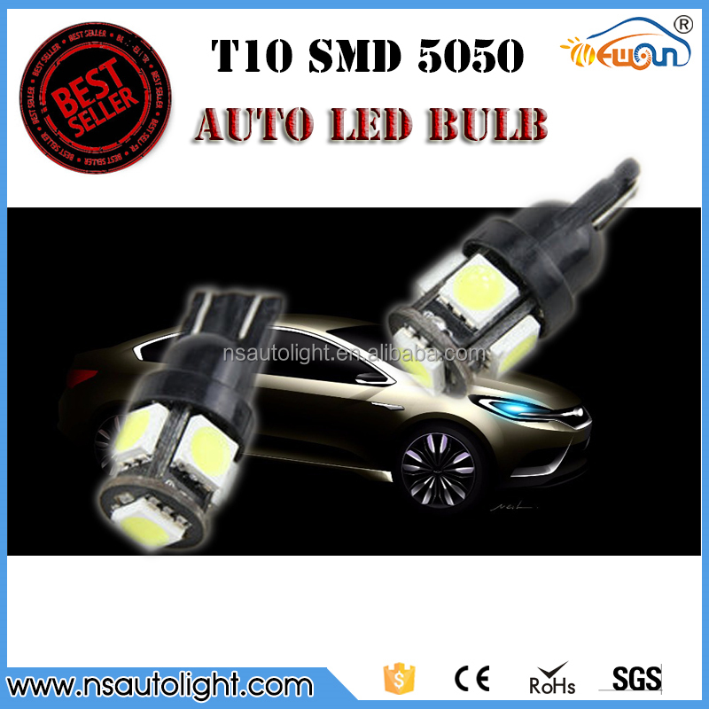 car led dash light t10 5050 5smd