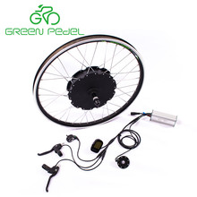 Greenpedel 36v 48v 500w 750w conversion kit electric motor bike