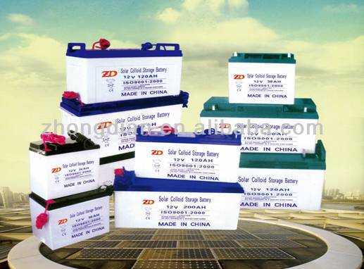 12v 100ah solar batteries for energy storage