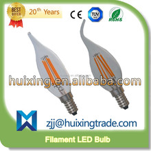 Dimmable 2W 4W 8W E14 E27 B22 Filament LED Bulb