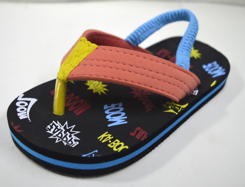 Cute Design Cotton Fabric Strap Make Your Own Kids Fancy Sandals