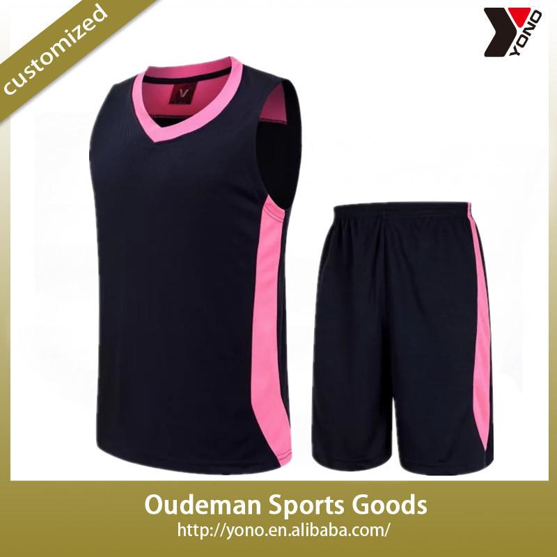 d5c9f1996 2017 Latest Design Youth Dry Fit Blank Sublimation Basketball Jersey Uniform  Set Custom Logo Cheap wholesale