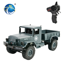 four wheel drive vehicle car climbing rc tractor truck toy with headlights