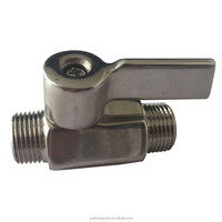 Male Male Thread Ends Stainless Steel