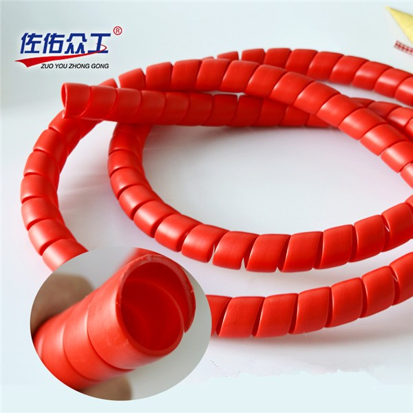 Id mm multicolor customized cable protection spiral