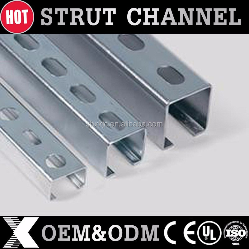 Q195 hot dip galvanized steel C channel strut clamp size 41*21